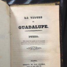 Libros antiguos: LA VIRGEN DE GUADALUPE / D. RAFAEL IGNACIO CORTÉS CANÓNIGO DE JALAPA / 1859. Lote 136455368