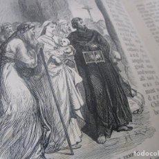 Libros antiguos: HISTORIAS VIDA CRISTO ILUSTRADA LIBRO MUY ANTIGUO AÑO 1898 LONDON EN INGLES WU. Lote 137516886