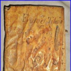 Libros antiguos: AÑO 1557. LIBRO DEL SIGLO XVI EDITADO EN BARCELONA. PERGAMINO.. Lote 138139046
