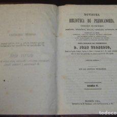 Libros antiguos: BIBLIOTECA DE PREDICADORES-TRONCOSO-2ª EDICIÓN - TOMO 5 - MADRID 1862. Lote 138597506