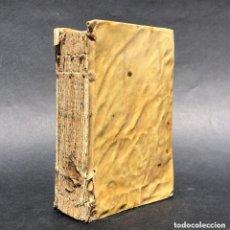 Libros antiguos: 1609 FRAY LUIS DE GRANADA - PERGAMINO - LATIN. Lote 138735450