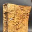 Libros antiguos: 1625 - EJERCICIO DE PERFECCIÓN - ALONSO RODRIGUEZ - EXTRAÑAS NOTAS EN LOS MARGENES - PERGAMINO. Lote 138761406