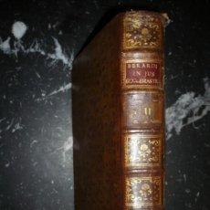 Libros antiguos: CAROLI SEBASTIANI BERARDI COMMENTARIA IN JUS ECCLESIASTICUM 1790 MATRITI TOMO 1-2. Lote 138818198
