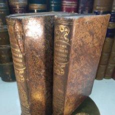 Libros antiguos: HISTORIA DE LA SOCIEDAD DOMÉSTICA EN TODOS LOS PUEBLOS ANTIGUOS Y MODERNOS - 2 TOMOS - 1855 -. Lote 138824554