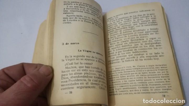 Libros antiguos: NUESTRA SEÑORA DE LOURDES-1922-JUAN OTAL ESCUELAS PIAS-ZARAGOZA - Foto 8 - 138835518