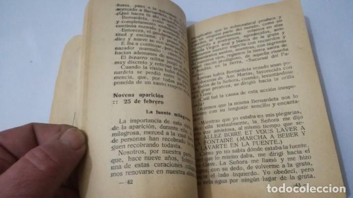Libros antiguos: NUESTRA SEÑORA DE LOURDES-1922-JUAN OTAL ESCUELAS PIAS-ZARAGOZA - Foto 9 - 138835518