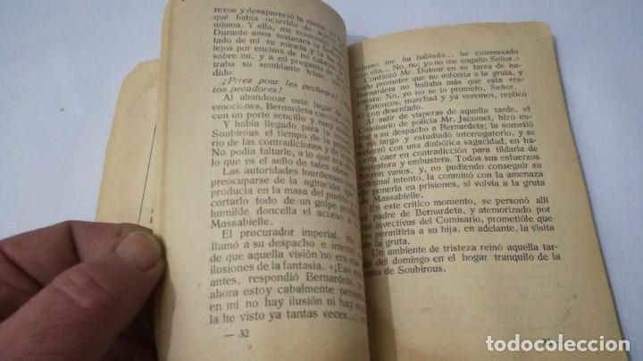 Libros antiguos: NUESTRA SEÑORA DE LOURDES-1922-JUAN OTAL ESCUELAS PIAS-ZARAGOZA - Foto 10 - 138835518