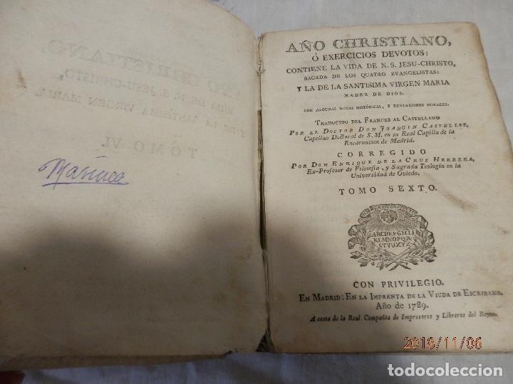 Libros antiguos: libro en pergamino siglo XVIII - Foto 2 - 139171722