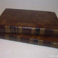 Libros antiguos: DOS TOMOS TAPAS DE PIEL..HOMO APOSTOLICUS....AÑO 1844. Lote 139183462