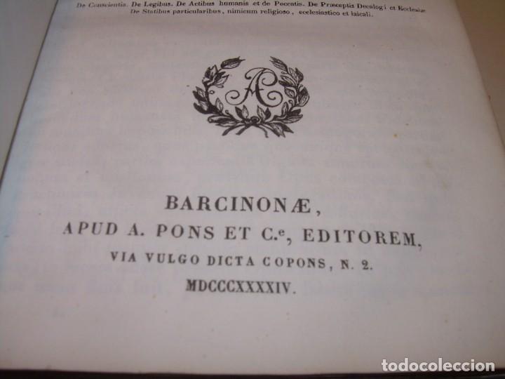 Libros antiguos: DOS TOMOS TAPAS DE PIEL..HOMO APOSTOLICUS....AÑO 1844 - Foto 5 - 139183462