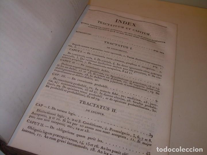 Libros antiguos: DOS TOMOS TAPAS DE PIEL..HOMO APOSTOLICUS....AÑO 1844 - Foto 7 - 139183462