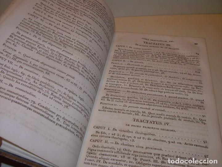 Libros antiguos: DOS TOMOS TAPAS DE PIEL..HOMO APOSTOLICUS....AÑO 1844 - Foto 8 - 139183462