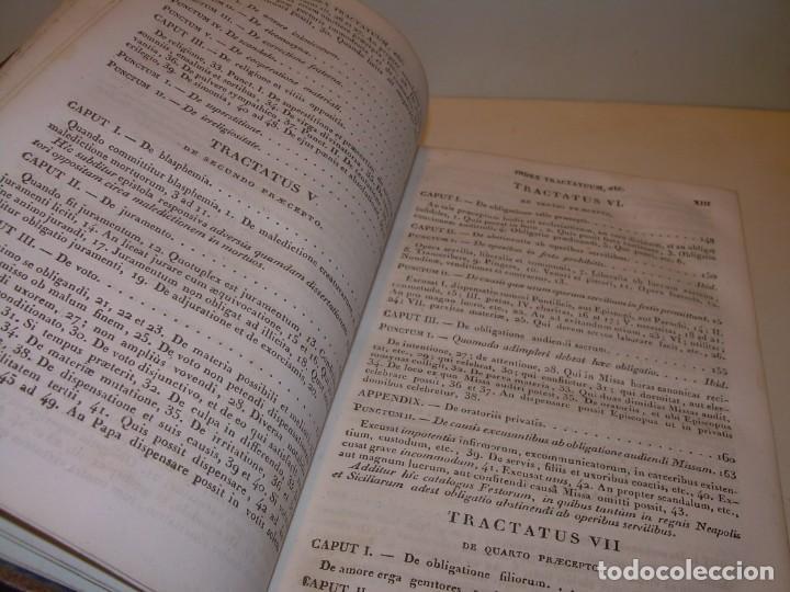 Libros antiguos: DOS TOMOS TAPAS DE PIEL..HOMO APOSTOLICUS....AÑO 1844 - Foto 9 - 139183462