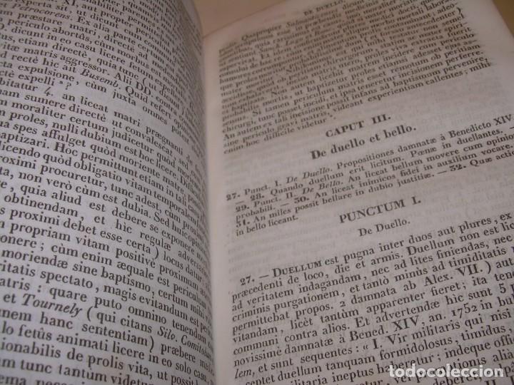 Libros antiguos: DOS TOMOS TAPAS DE PIEL..HOMO APOSTOLICUS....AÑO 1844 - Foto 17 - 139183462