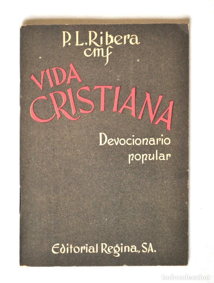 DEVOCIONARIO POPULAR - VIDA CRISTIANA (Libros Antiguos, Raros y Curiosos - Religión)