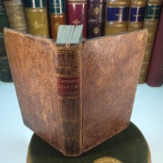 Libros antiguos: CONTEMPLACIÓN DE LA VIDA DE NTRO. S.R JESUCRISTO, DESDE SU CONCEPCIÓN - SAN BUENAVENTURA - 1824 -. Lote 139840982