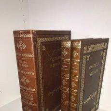 Libros antiguos: FACSÍMIL MANUSCRITO CASTILLO INTERIOR SANTA TERESA. 150 EJS. PLENA PIEL, CAJA ESTUCHE, GUARDAS SEDA.. Lote 140110106