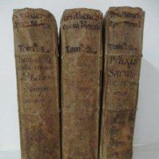 Libros antiguos: JOANIS AEGIDII - TRULLENCH VILLAE-REALIS - 3 TOMOS - JOSEPHI TEXIDÒ - AÑO 1701. Lote 140205390