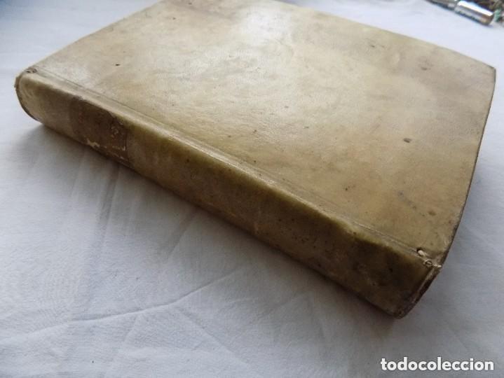Libros antiguos: LIBRERIA GHOTICA. SACROSANCTUM. DECUMENICUM CONCLIUM TRIDENTINUM. 1762. FOLIO. PERGAMINO. - Foto 4 - 140898574