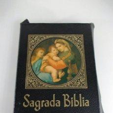 Libros antiguos: LA SAGRADA BIBLIA VERSION DIRECTA DE LOS TEXTOS PRIMITIVOS POR MONS. DR. JUAN STRAUBINGUER. Lote 206283176