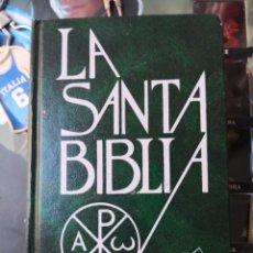 Libros antiguos: LA SANTA BIBLIA SAN PABLO 15ª EDICIÓN. TAPA DURA. Lote 141450838