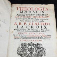Alte Bücher - Theologia Moralis ARP Claudio La Croix 1734 pergamino dos tintas buen estado Venecia Latín - 141640762