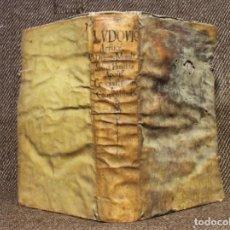 Libros antiguos: LUDOVICI A CRUCE · DISPUTATIONES MORALES IN TRES BULLAS · 1634 · LYON · GRUTESCOS. Lote 141736782