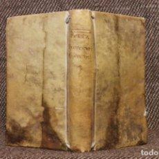 Libros antiguos: EXERCICIOS ESPIRITUALES PARA CADA UNO DE LOS DÍAS DEL MES · FRAY LUIS PÉREZ · 1786. BARCO LÓPEZ. Lote 141766270