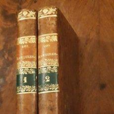 Libros antiguos: LOS MARTIRES O EL TRIUNFO DE LA RELIGION CRISTIANA - CHATEAUBRIAND - MAYOL Y COMPAÑIA 1842 PERFECTO. Lote 142205862