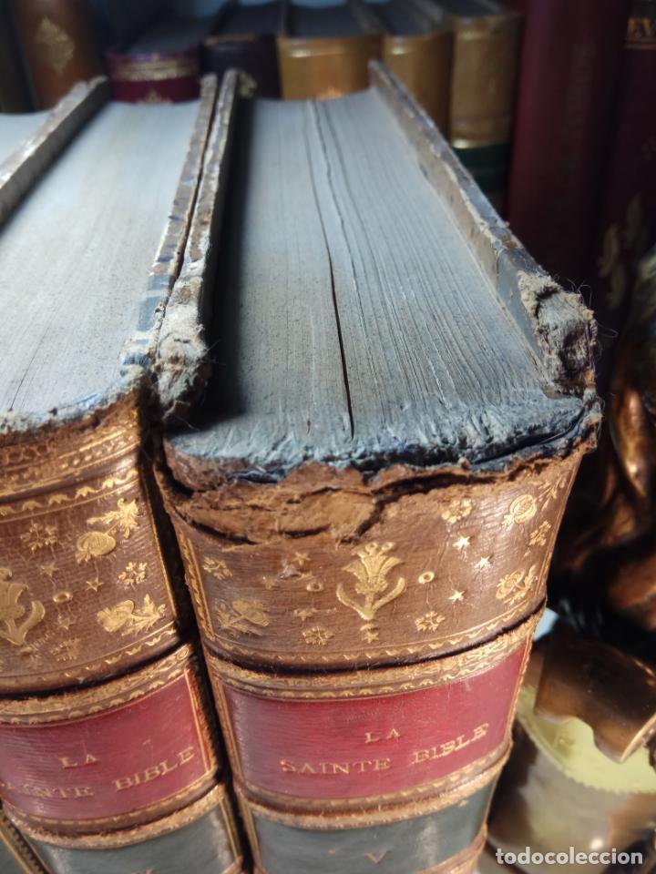 Libros antiguos: BELLÍSIMA SANTA BIBLIA EN 5 TOMOS - LEMAISTRE DE SACY - EXTRAORDINARIOS GRABADOS - 1857 - PARÍS - - Foto 7 - 142910874