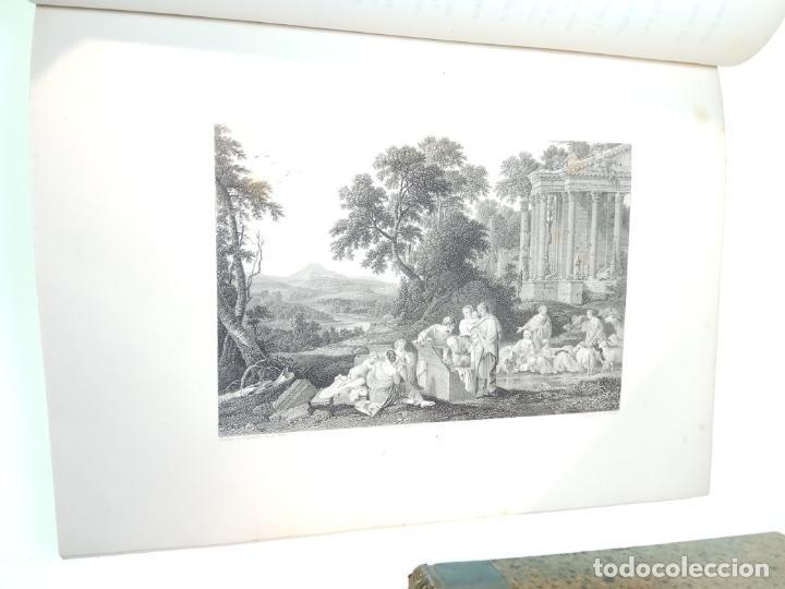 Libros antiguos: BELLÍSIMA SANTA BIBLIA EN 5 TOMOS - LEMAISTRE DE SACY - EXTRAORDINARIOS GRABADOS - 1857 - PARÍS - - Foto 16 - 142910874