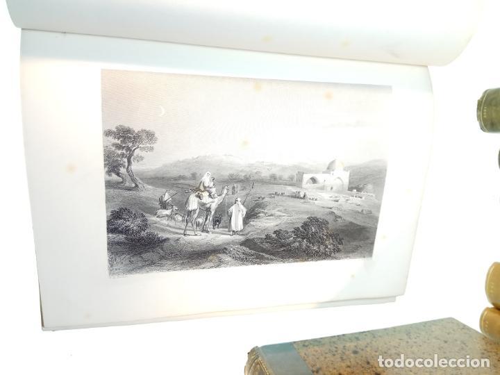Libros antiguos: BELLÍSIMA SANTA BIBLIA EN 5 TOMOS - LEMAISTRE DE SACY - EXTRAORDINARIOS GRABADOS - 1857 - PARÍS - - Foto 17 - 142910874
