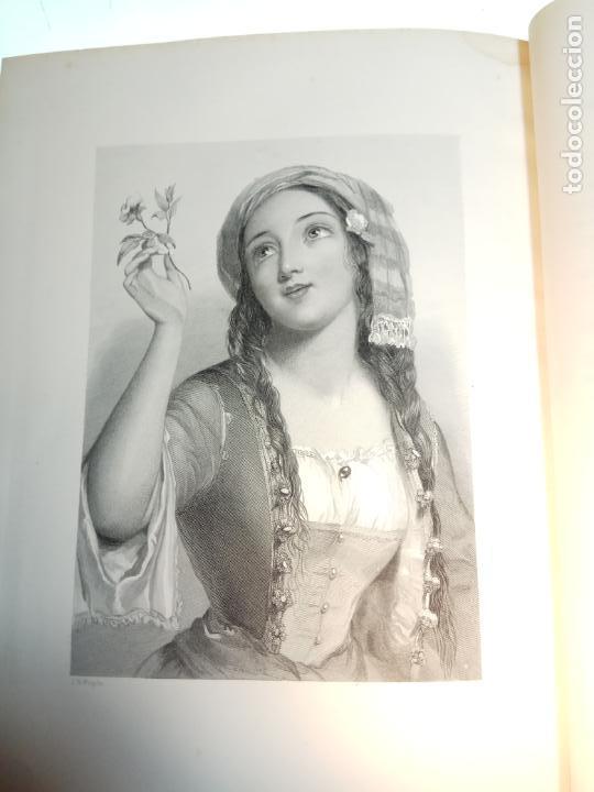 Libros antiguos: BELLÍSIMA SANTA BIBLIA EN 5 TOMOS - LEMAISTRE DE SACY - EXTRAORDINARIOS GRABADOS - 1857 - PARÍS - - Foto 21 - 142910874