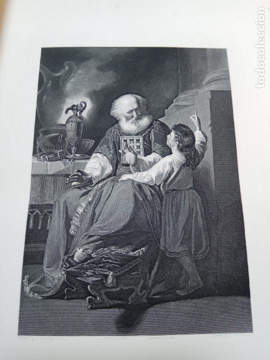 Libros antiguos: BELLÍSIMA SANTA BIBLIA EN 5 TOMOS - LEMAISTRE DE SACY - EXTRAORDINARIOS GRABADOS - 1857 - PARÍS - - Foto 28 - 142910874