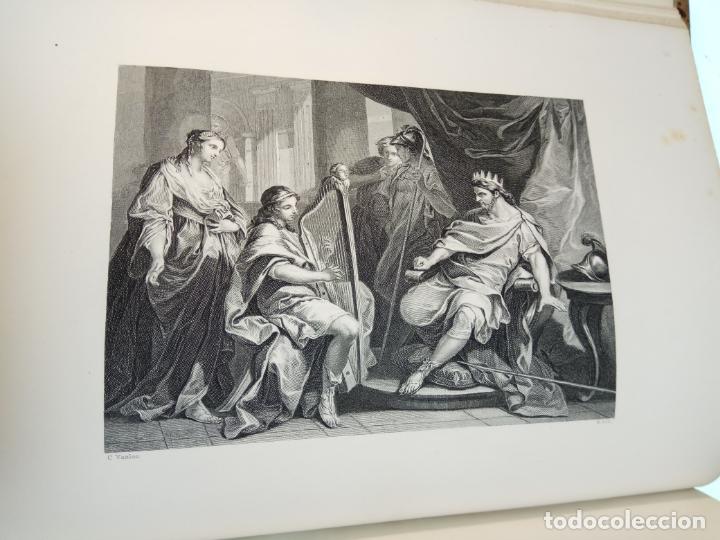 Libros antiguos: BELLÍSIMA SANTA BIBLIA EN 5 TOMOS - LEMAISTRE DE SACY - EXTRAORDINARIOS GRABADOS - 1857 - PARÍS - - Foto 29 - 142910874
