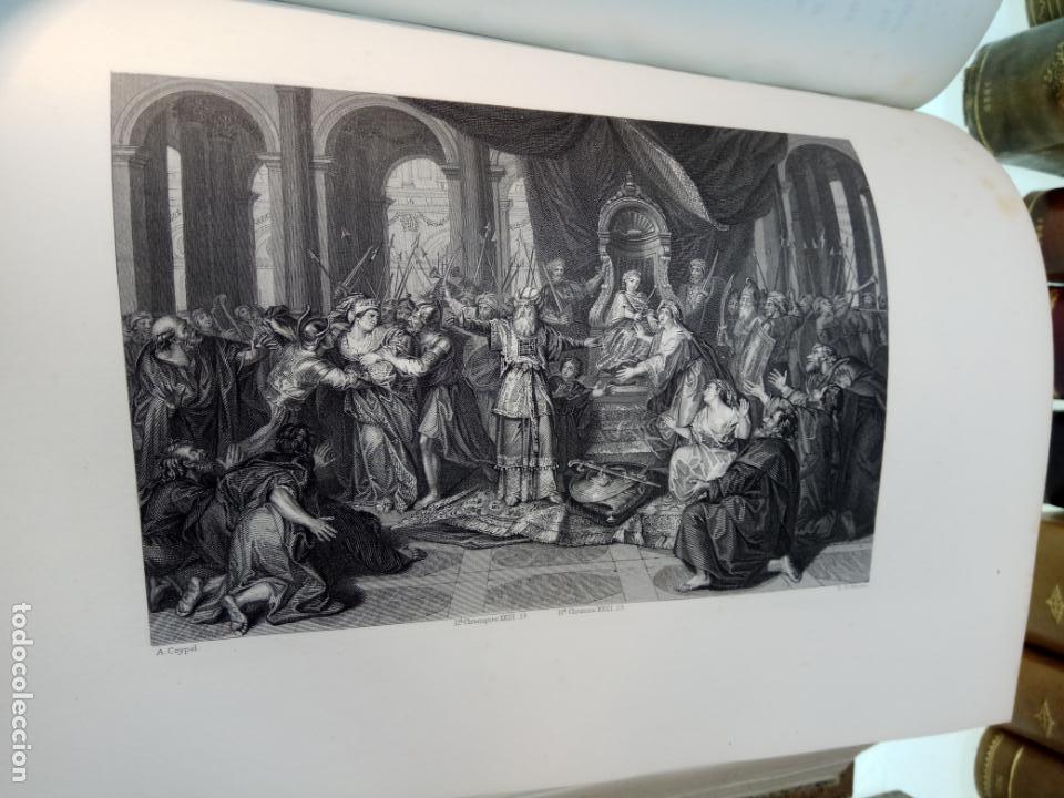 Libros antiguos: BELLÍSIMA SANTA BIBLIA EN 5 TOMOS - LEMAISTRE DE SACY - EXTRAORDINARIOS GRABADOS - 1857 - PARÍS - - Foto 31 - 142910874