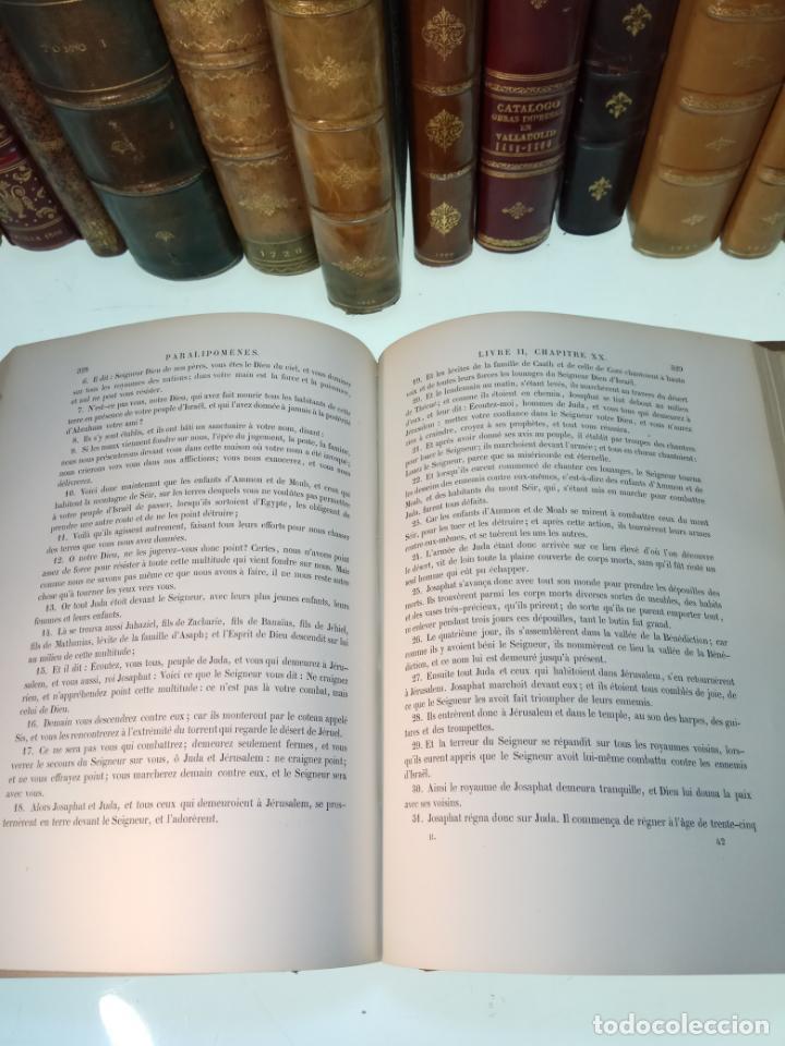 Libros antiguos: BELLÍSIMA SANTA BIBLIA EN 5 TOMOS - LEMAISTRE DE SACY - EXTRAORDINARIOS GRABADOS - 1857 - PARÍS - - Foto 32 - 142910874