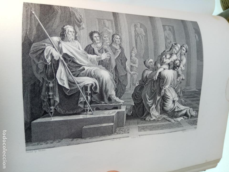 Libros antiguos: BELLÍSIMA SANTA BIBLIA EN 5 TOMOS - LEMAISTRE DE SACY - EXTRAORDINARIOS GRABADOS - 1857 - PARÍS - - Foto 34 - 142910874