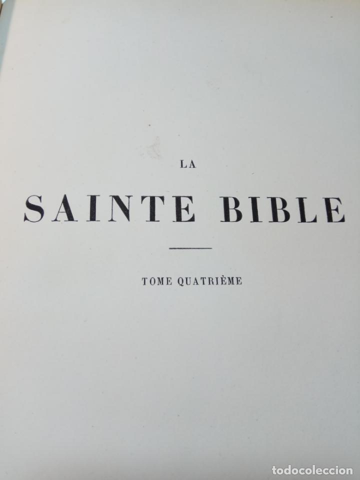 Libros antiguos: BELLÍSIMA SANTA BIBLIA EN 5 TOMOS - LEMAISTRE DE SACY - EXTRAORDINARIOS GRABADOS - 1857 - PARÍS - - Foto 47 - 142910874