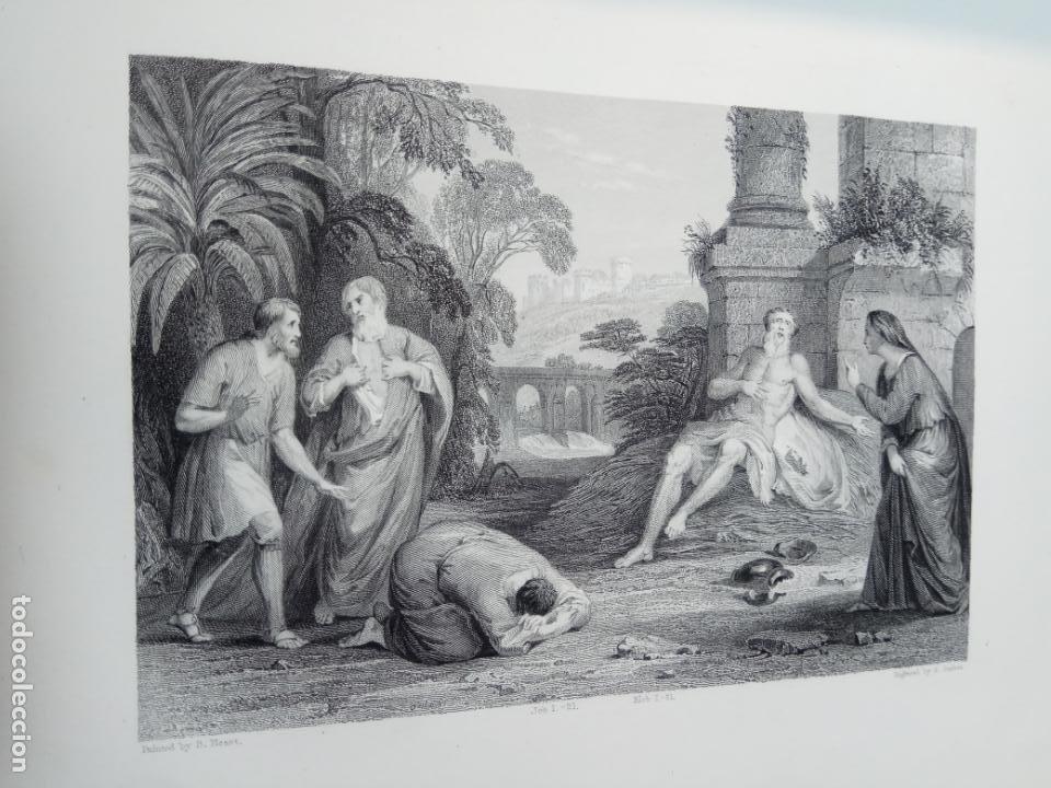 Libros antiguos: BELLÍSIMA SANTA BIBLIA EN 5 TOMOS - LEMAISTRE DE SACY - EXTRAORDINARIOS GRABADOS - 1857 - PARÍS - - Foto 50 - 142910874