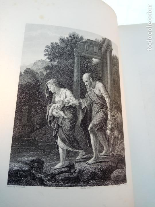 Libros antiguos: BELLÍSIMA SANTA BIBLIA EN 5 TOMOS - LEMAISTRE DE SACY - EXTRAORDINARIOS GRABADOS - 1857 - PARÍS - - Foto 60 - 142910874