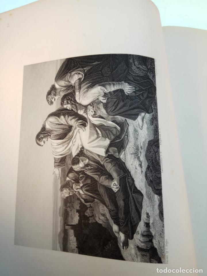 Libros antiguos: BELLÍSIMA SANTA BIBLIA EN 5 TOMOS - LEMAISTRE DE SACY - EXTRAORDINARIOS GRABADOS - 1857 - PARÍS - - Foto 61 - 142910874