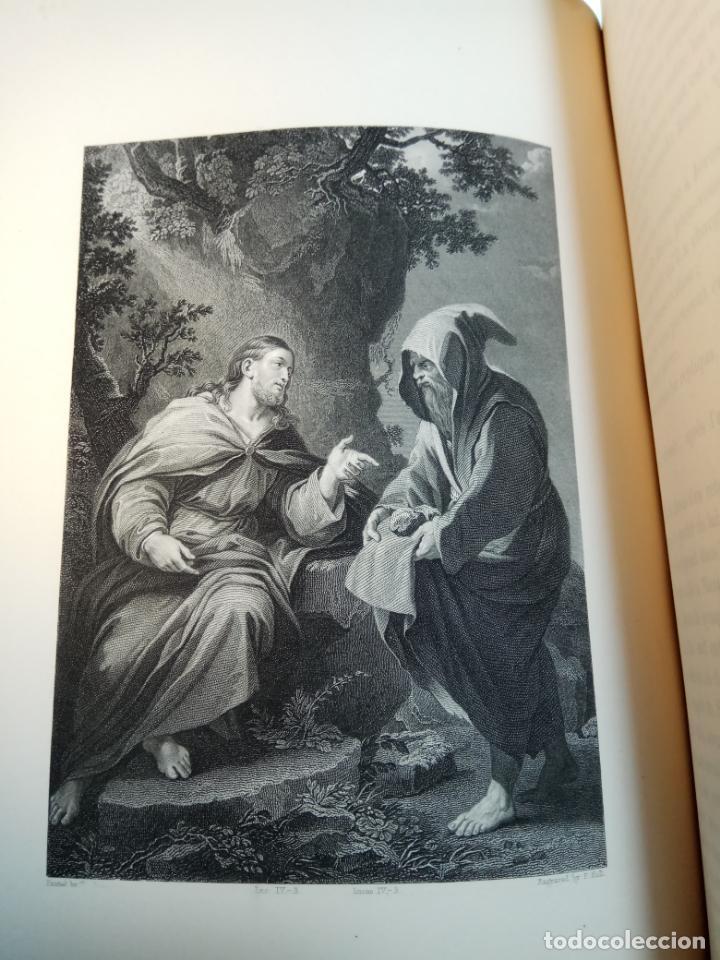 Libros antiguos: BELLÍSIMA SANTA BIBLIA EN 5 TOMOS - LEMAISTRE DE SACY - EXTRAORDINARIOS GRABADOS - 1857 - PARÍS - - Foto 63 - 142910874