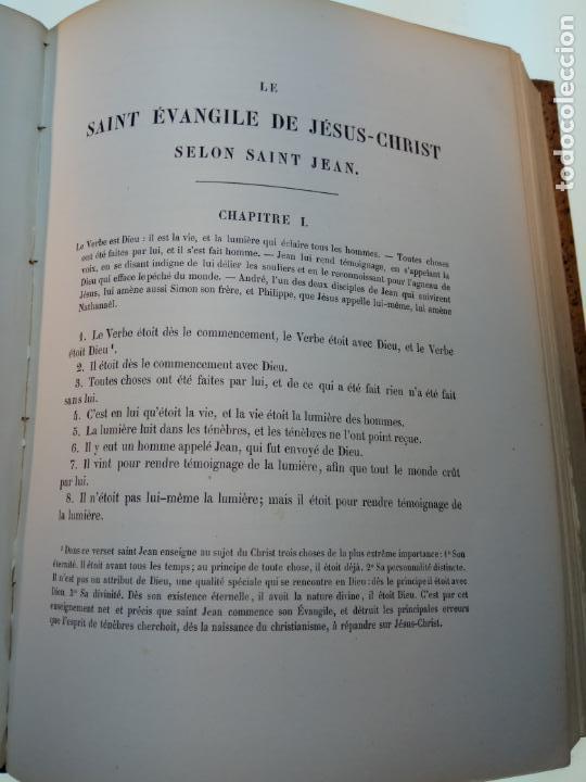 Libros antiguos: BELLÍSIMA SANTA BIBLIA EN 5 TOMOS - LEMAISTRE DE SACY - EXTRAORDINARIOS GRABADOS - 1857 - PARÍS - - Foto 68 - 142910874