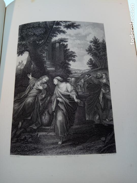 Libros antiguos: BELLÍSIMA SANTA BIBLIA EN 5 TOMOS - LEMAISTRE DE SACY - EXTRAORDINARIOS GRABADOS - 1857 - PARÍS - - Foto 69 - 142910874