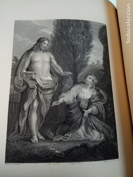 Libros antiguos: BELLÍSIMA SANTA BIBLIA EN 5 TOMOS - LEMAISTRE DE SACY - EXTRAORDINARIOS GRABADOS - 1857 - PARÍS - - Foto 71 - 142910874
