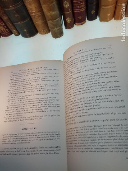 Libros antiguos: BELLÍSIMA SANTA BIBLIA EN 5 TOMOS - LEMAISTRE DE SACY - EXTRAORDINARIOS GRABADOS - 1857 - PARÍS - - Foto 74 - 142910874