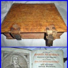 Libros antiguos: ESPECTACULAR LIBRO ANTIGUO. VER ENCUADERNACIÓN. 1100 PÁGINAS. Lote 143221114