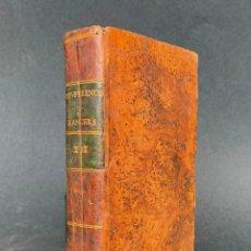Libros antiguos: 1783 - CONFERENCES ECCLESIASTIQUES - SUR LES ETATS - LIBRO ANTIGUO - RELIGION - CATOLICO - . Lote 143565098