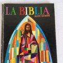 Libros antiguos: LA BIBLIA CON ILUSTRACIONES. Lote 143842006